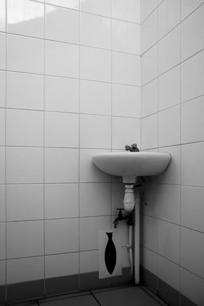 Toilettes publiques, Carcans Plage, acces nord, 2016, Digitalphotographie