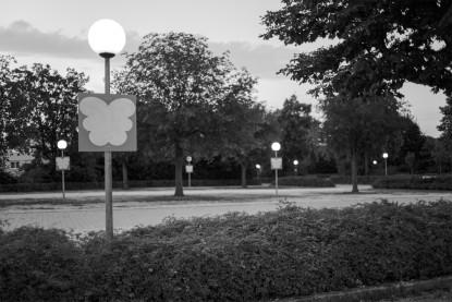 Wiblingen, Parkplatz am Kloster, 2016, Digitalfotofgrafie